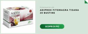 adiprox fitomagra confezione 20 bustine per tisana