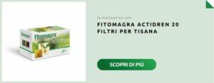 aboca actidren 20 filtri per tisana
